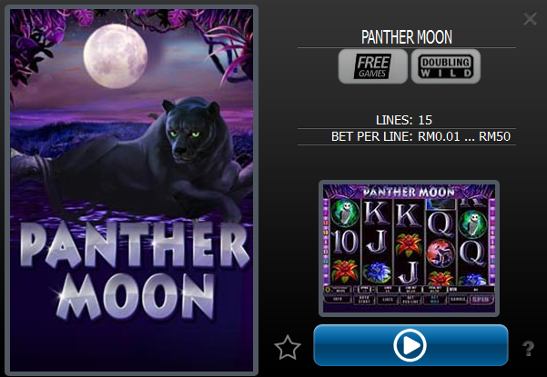 panther moon at 12Win