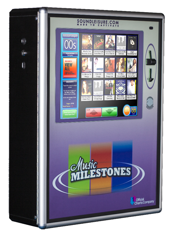 Music Milestones - digital jukebox