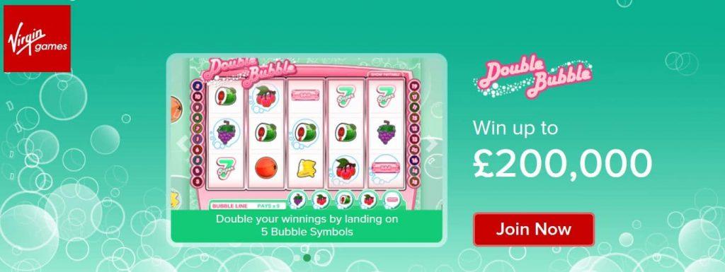 Double Bubble Virgin games