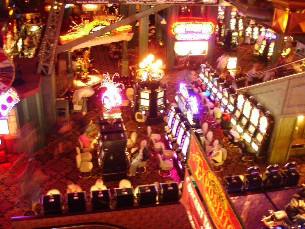 land-based casino atmosphere